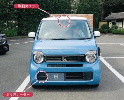 図5 ホンダの軽自動車「N-WGN」