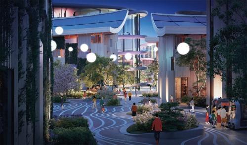 図2 トヨタが実証都市「Woven City」のプロジェクトを断行
