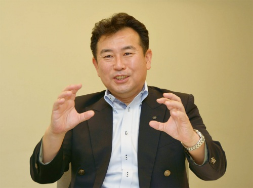 図2 アリアの開発責任者の中嶋光氏