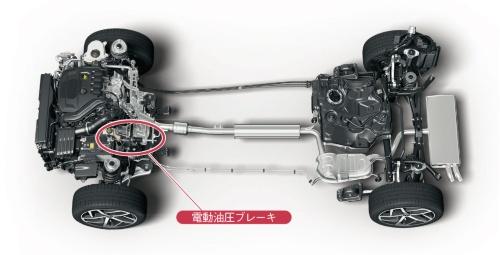 図2 VWの新型「ゴルフ」は幅広いパワートレーンのブレーキ部品を共通化