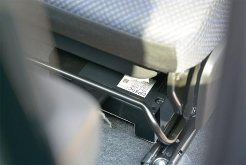 図2 スズキの軽ハイトワゴン「ワゴンR」MHEVモデルの電池パック