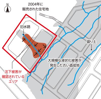 〔図1〕市の報告書は盛り土と記載