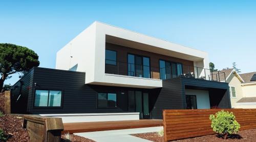 〔写真1〕機能を更新し続けるIoT住宅の「HOMMA ONE」