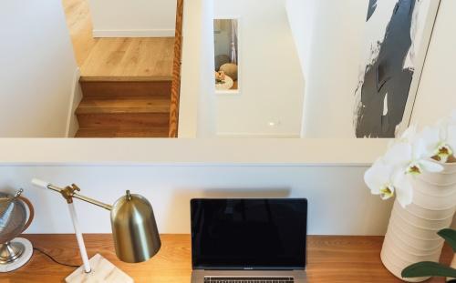 〔写真3〕仕事場スペースはオープン空間