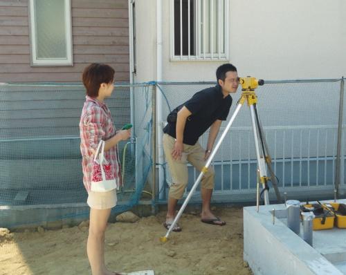 〔写真1〕建て主が最低5回は現場検査に立ち会い