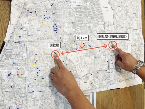 〔図3〕半径1km以内が主要商圏