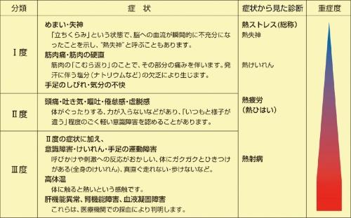 〔図2〕症状が多様な熱中症