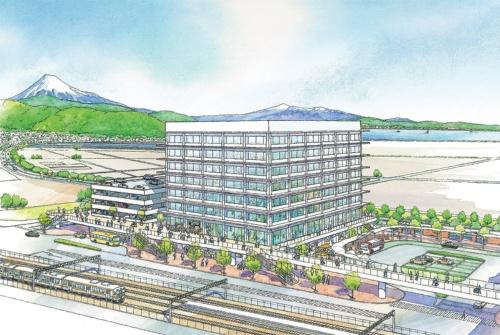 静岡市役所清水庁舎(94億円)