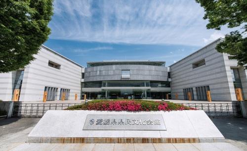 愛媛県県民文化会館の外観。丹下健三の設計で、1986年4月に開館した。築30年が経過し、老朽化が進んだことから、大規模改修を実施することになった(写真:愛媛県文化振興財団)