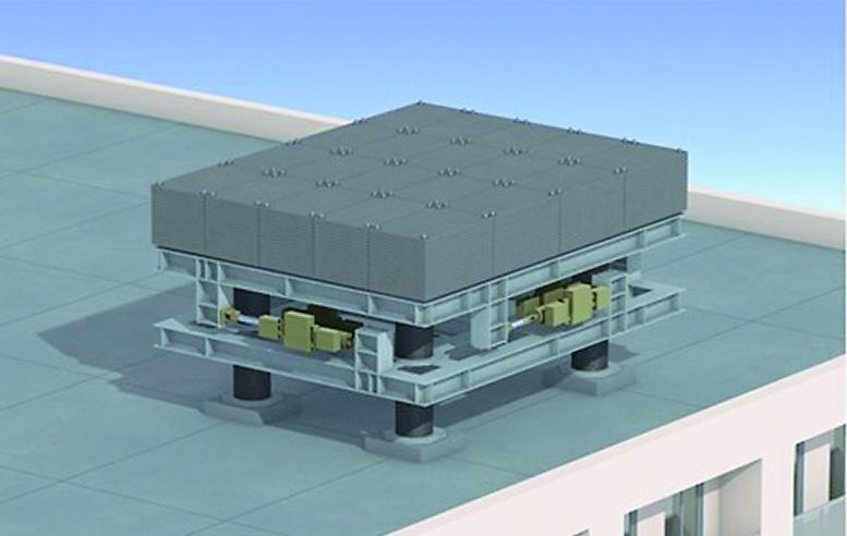 マンションなどの屋上への設置例