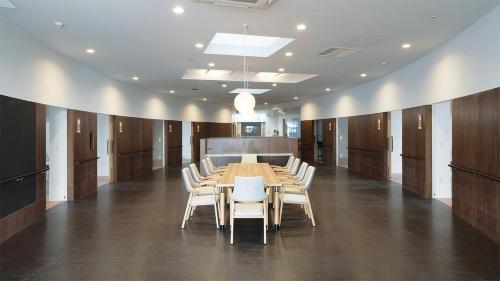 〔写真2〕ユニット中央に共同生活室