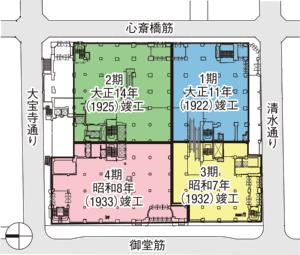 配置・1階平面図(資料:竹中工務店)