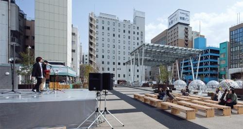 〔写真2〕市街地活性化の一環で整備