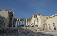 4. パレ・ド・トーキョー(2002年)。1937年のパリ万博の展示施設を現代美術センターにリノベーションしたもの(写真:日経アーキテクチュア)
