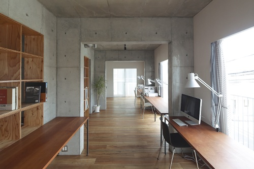 〔写真8〕住宅地にコワーキングスペース