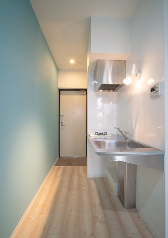 〔写真2〕住戸はデザイン性重視