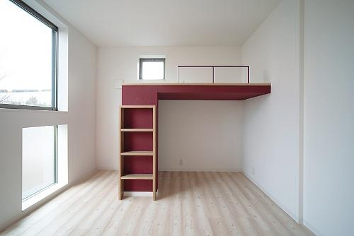 〔写真3〕住戸室内に「シンボルカラー」設定