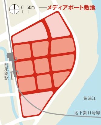 〔図4〕駅から水辺の公共空間に人を誘導