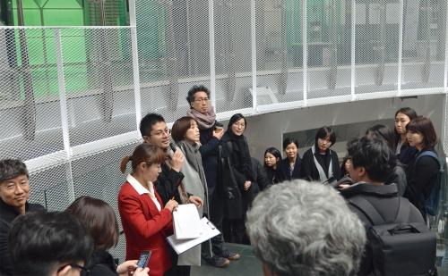 〔写真1〕市民の期待集まる駅改修
