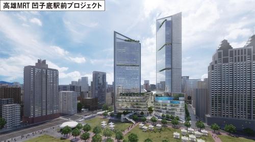 〔図5〕日本の大手3社の設計コンペで勝利