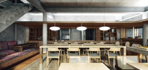 〔図1〕「社食堂」を広島のカルチャー発信拠点に