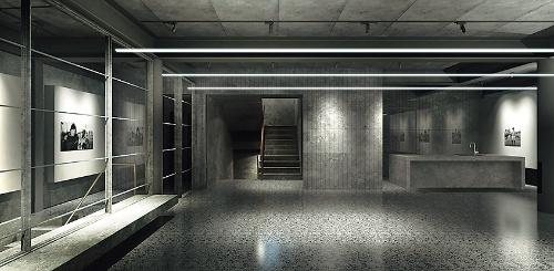 2階は多目的室(資料:サポーズデザインオフィス)