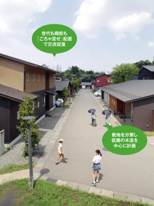 〔写真1〕街開き初年度の見学者は20万人超