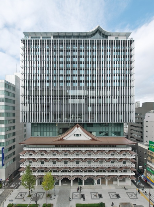 〔写真1〕消えた大阪新歌舞伎座がよみがえる