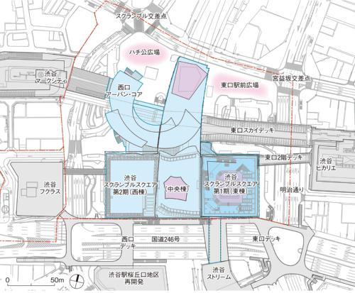 〔図1〕2027年完成時の配置図