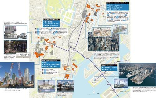 〔図1〕都心・湾岸部のポスト2020開発