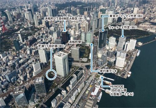 〔図1〕交通インフラ更新と新「世界貿易センタービル」