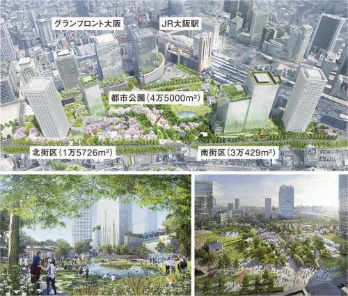 〔図1〕「緑が少ない」大阪のイメージを払拭