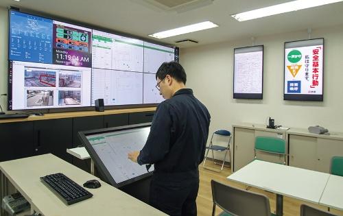 その前身に当たる名古屋のパイロット現場の工事事務所(写真:日経アーキテクチュア)