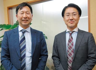 松村 康弘氏(右) 石川 貴紀氏(左)