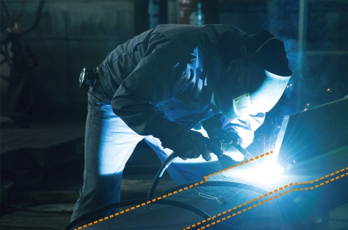 〔写真1〕金属疲労に強い鋼材ダンパー