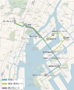 東京BRT、プレ運行(二次)、五輪後