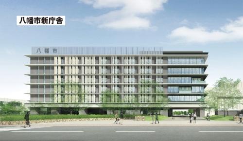 〔図1〕新庁舎の設計段階からFMシステムを構築