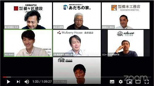 〔図1〕相手の顔を見ながら大人数でやり取りできるビデオ会議が普及