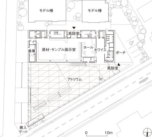 配置・1階平面図