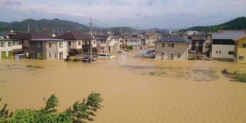 〔写真1〕行政の説明責任を問う全国初の水害訴訟