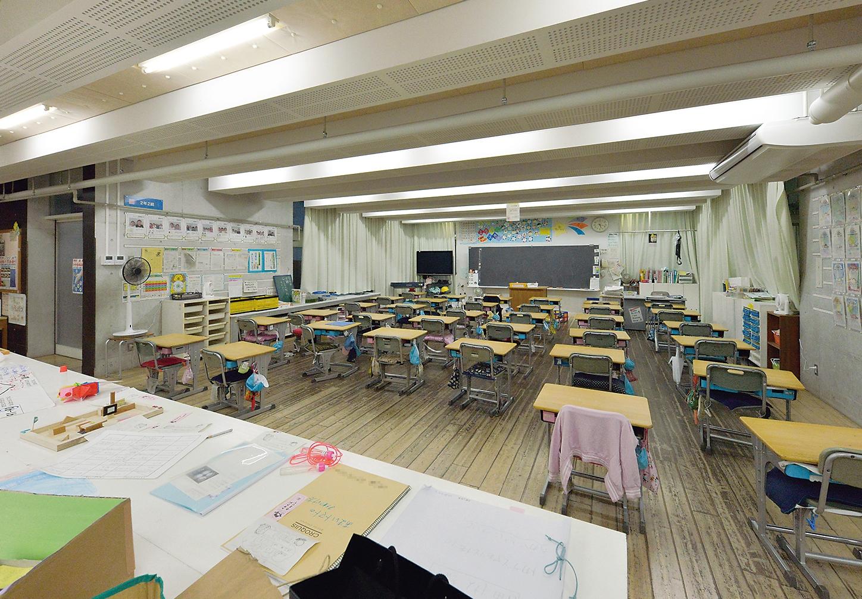 千葉市立美浜打瀬小学校(写真:日経アーキテクチュア)