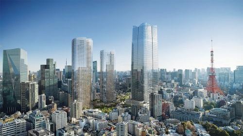 約8.1ヘクタールの広大なエリアに高さ330mの超高層や約6000m<sup>2</sup>の中央広場などを整備する。年間来街者数は約2500万~3000万人と想定しており、六本木ヒルズに匹敵するインパクトとなる。総事業費は約5800億円