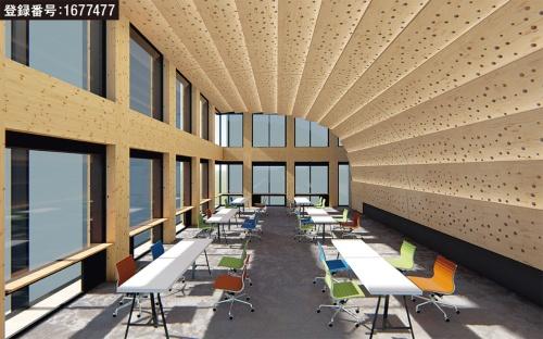 内壁と天井の形状に関する登録(資料:大林組)
