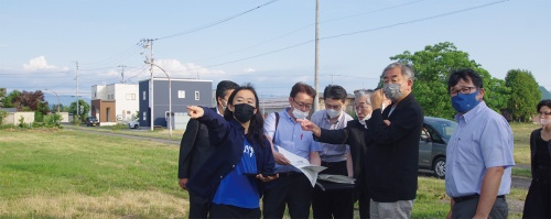 〔写真1〕隈事務所が北海道東川町でオフィスを設計