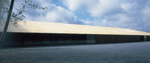 那珂川町馬頭広重美術館(栃木県那珂川町、2000年)