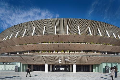 国立競技場(東京都新宿区、2019年)
