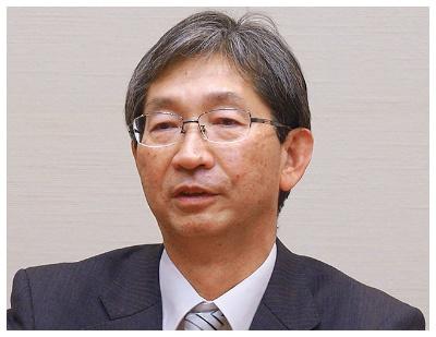 業務改革プロジェクトを統括する黒田正実副社長