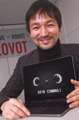 スピードを重視。「何世代もかけた適者生存のプロセスを、ロボット開発では短時間でやりきる」(写真:陶山 勉)