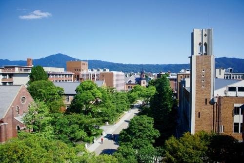 写真 同志社大学の今出川キャンパス