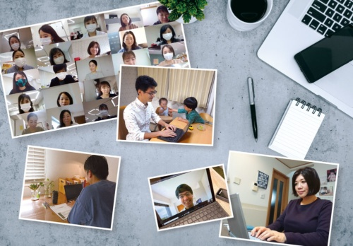 (写真:Getty Images、CG:小川 絢子、写真・画像提供:ランクアップ(左上と右下)、MSD(中央)、三井不動産(下段中)、アフラック生命保険(左下))